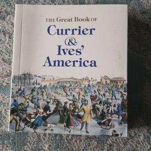 Currier & Ives mini Art book